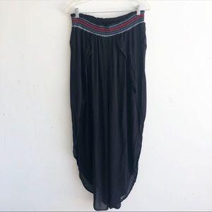 BLUE ISLAND SWIM SUIT COVER UP PANTS L